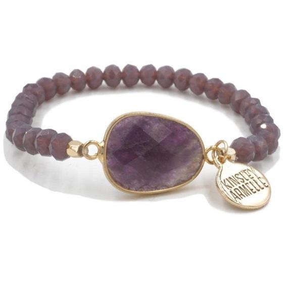 Kinsley Armelle Jewelry - NEW Kinsley Armelle Stone- Lavender bracelet